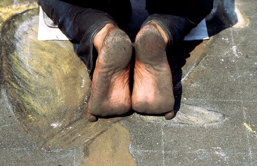 madonnari-piedi