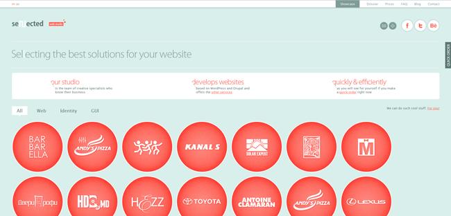 30 Migliori Design di Siti Web 2012