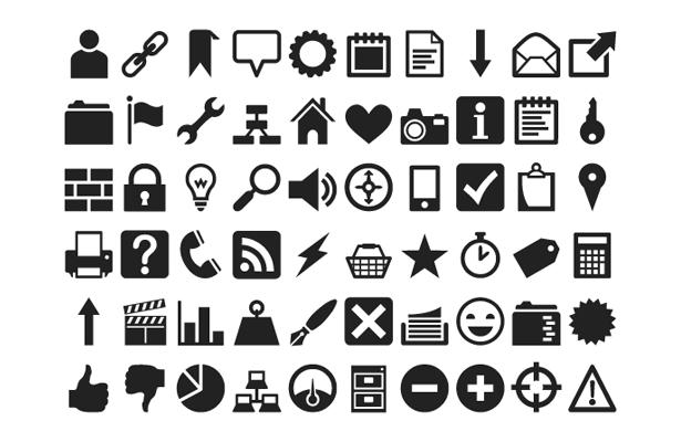 Creare e gestire icone come font