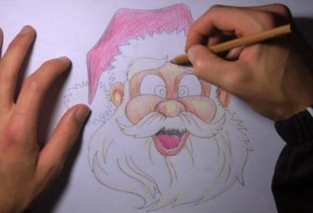 come_disegnare_babbo_natale_11