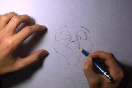 come_disegnare_babbo_natale_4