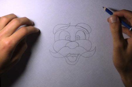 come_disegnare_babbo_natale_6