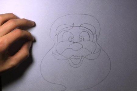 come_disegnare_babbo_natale_7