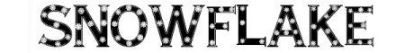 Font-natalizi-Snowflake-Letters