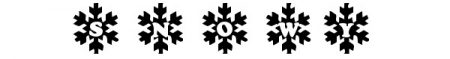 Font-natalizi-Snowy-Caps