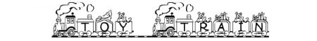 Font-natalizi-Toy-Train