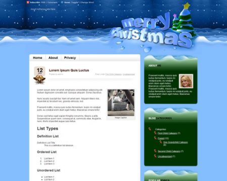 Temi-wordpress-natalizi-Merry-christmas-theme