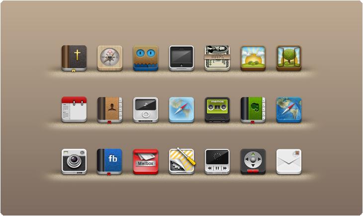3D icon sets