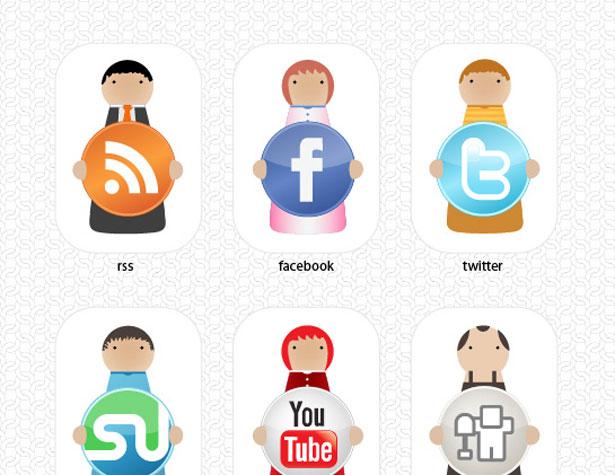 character social set