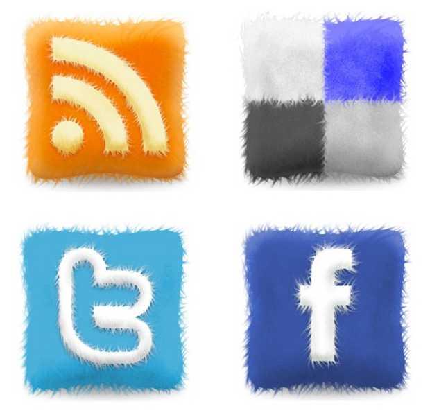 soft pillows social icons