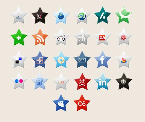 stars icon set