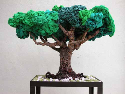 Bonsai Recycled Arts and Crafts