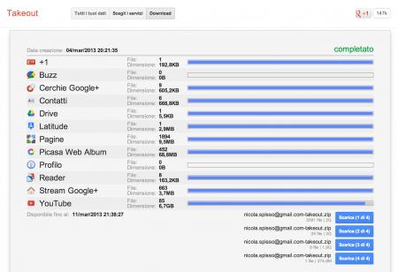 google-takeout-finestra-principale-download