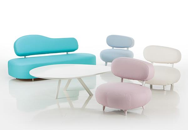 Divani design contemporaneo e colori vivaci – Bruhl