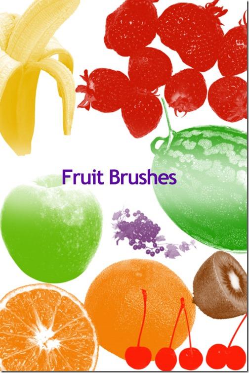 500+ Pennelli Photoshop di frutta e verdura