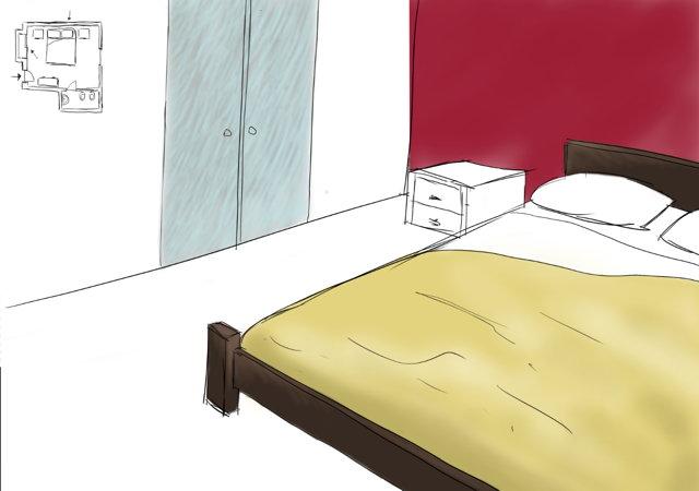 camera-da-letto-moderna-tecnica-spennellata-e-pareti-2