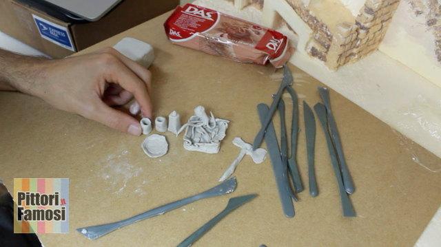 Creare oggetti presepe con DAS – Parte8