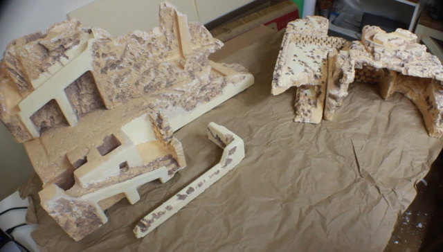 Creare terreno increspato presepe con carta da imballaggio – Parte4