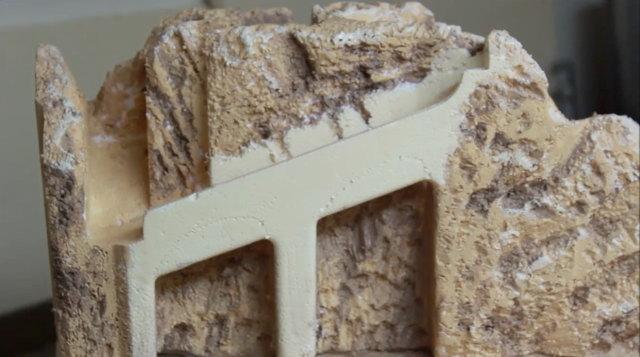 Dipingere montagne e muri del presepe – Parte3