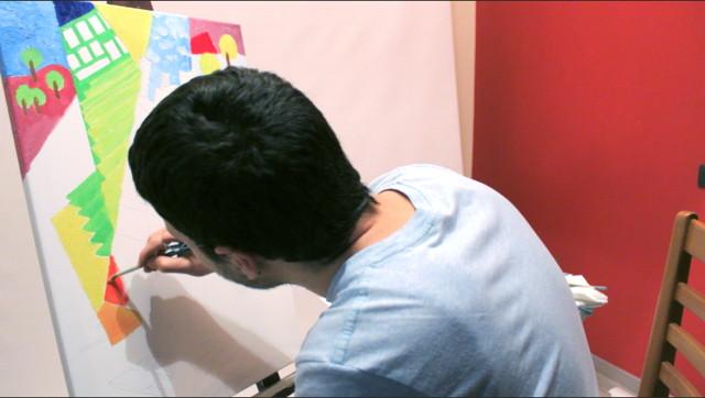 Come dipingere quadro moderno ad olio