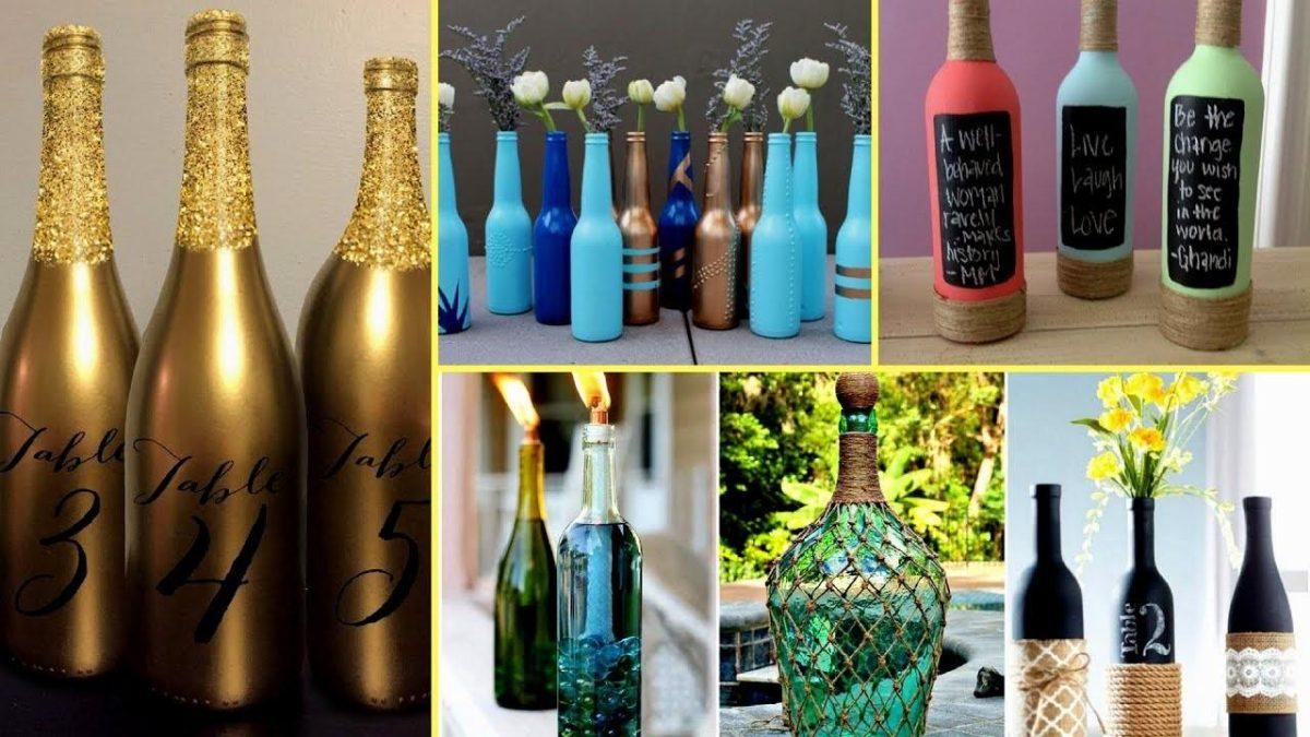 8 Modi per riutilizzare bottiglie di vetro