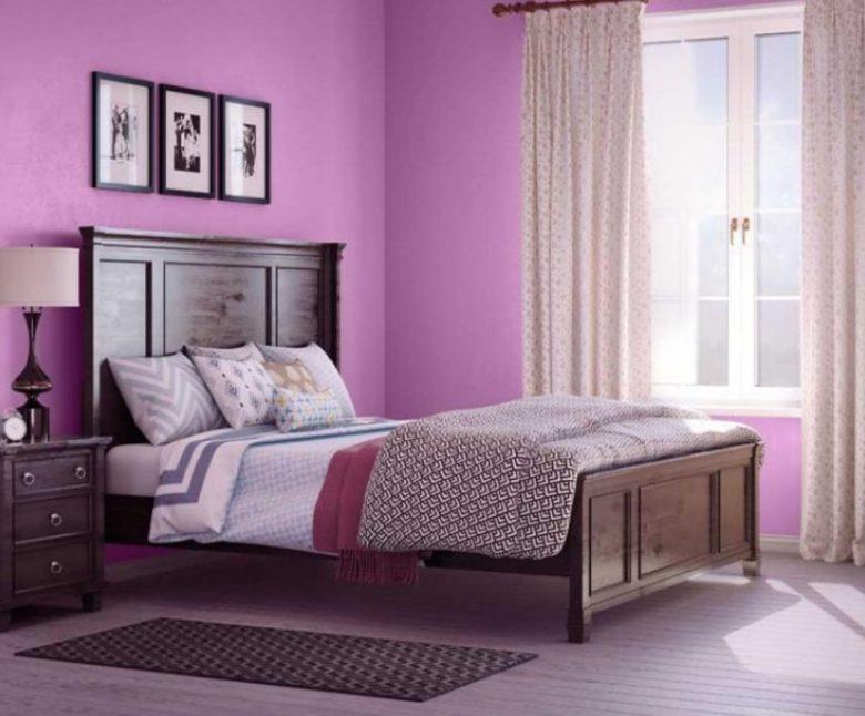 dipingere-pareti-rosa-porpora-viola