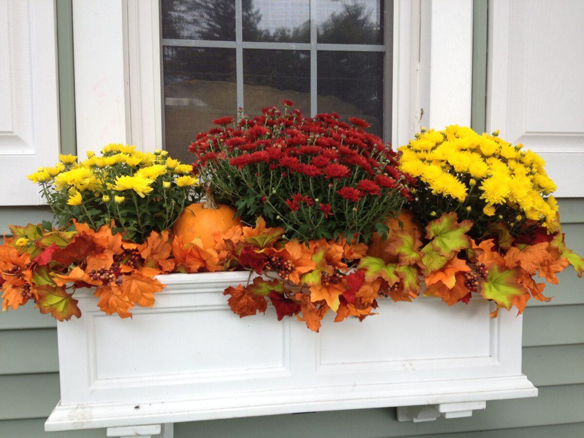 Idee per decorare il balcone in autunno