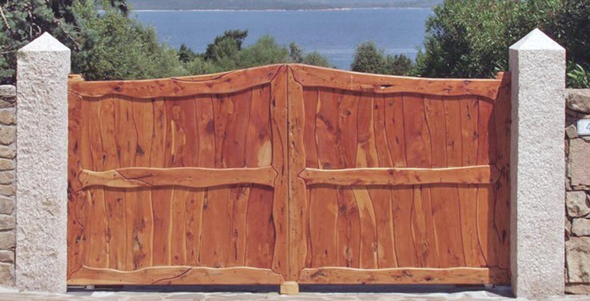 Cancello-elettrico-09 legno