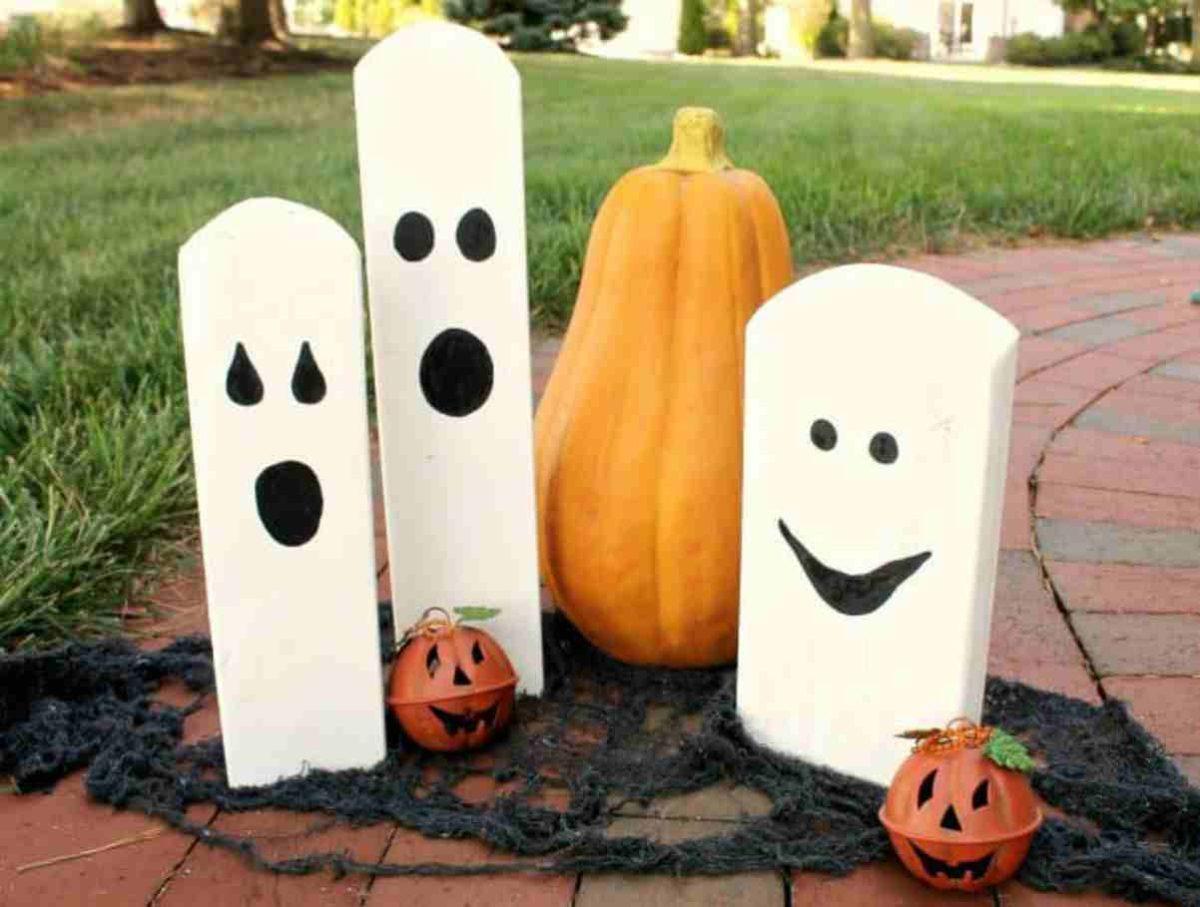 Come creare decorazioni per Halloween con il legno