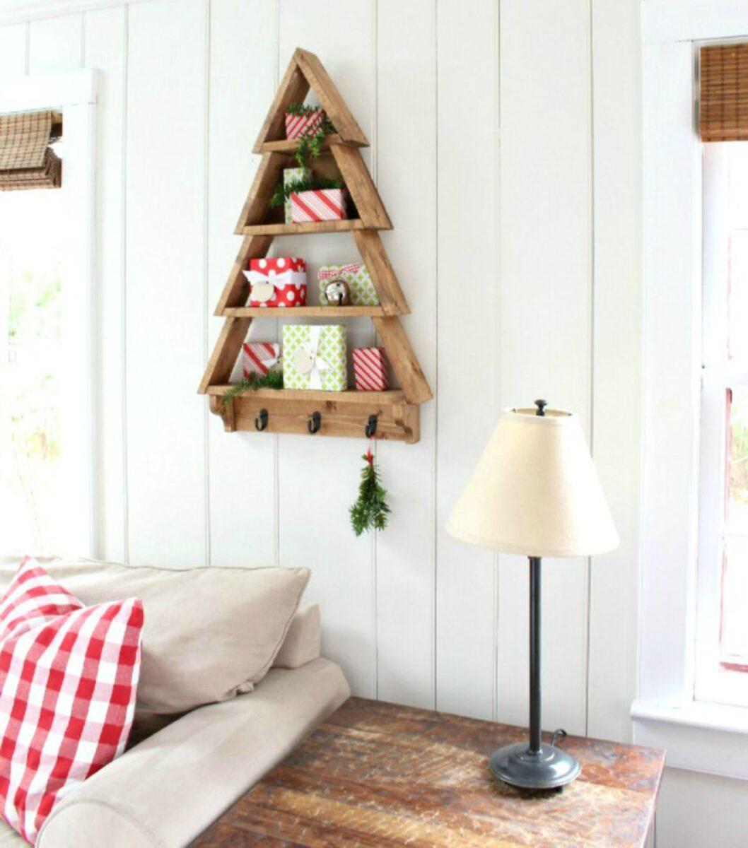 Creare un albero di Natale con il pallet 6