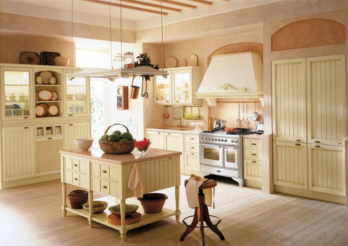 Abbellire una cucina rustica