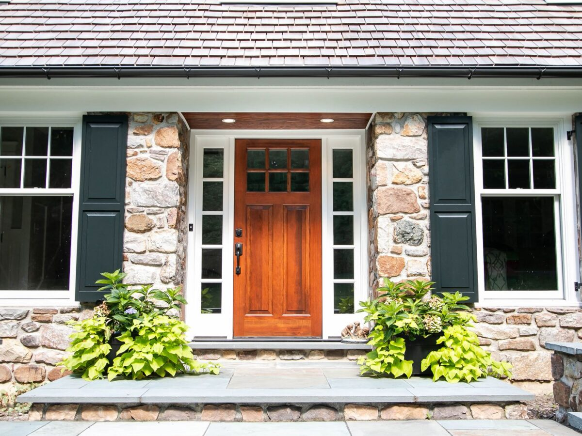 Come abbellire la porta d'ingresso: 10 idee
