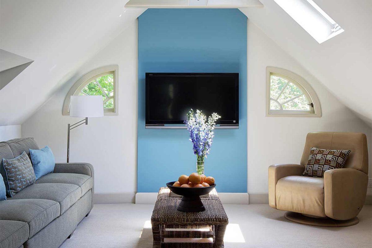Come dipingere le pareti della mansarda