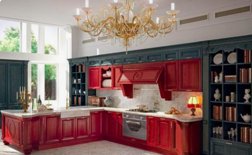 Cucina rossa: modelli e idee di arredo