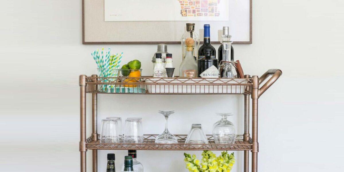 5 idee per un angolo minibar in camera