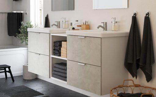 Catalogo Bagno IKEA 2021: stile minimal e funzionalità