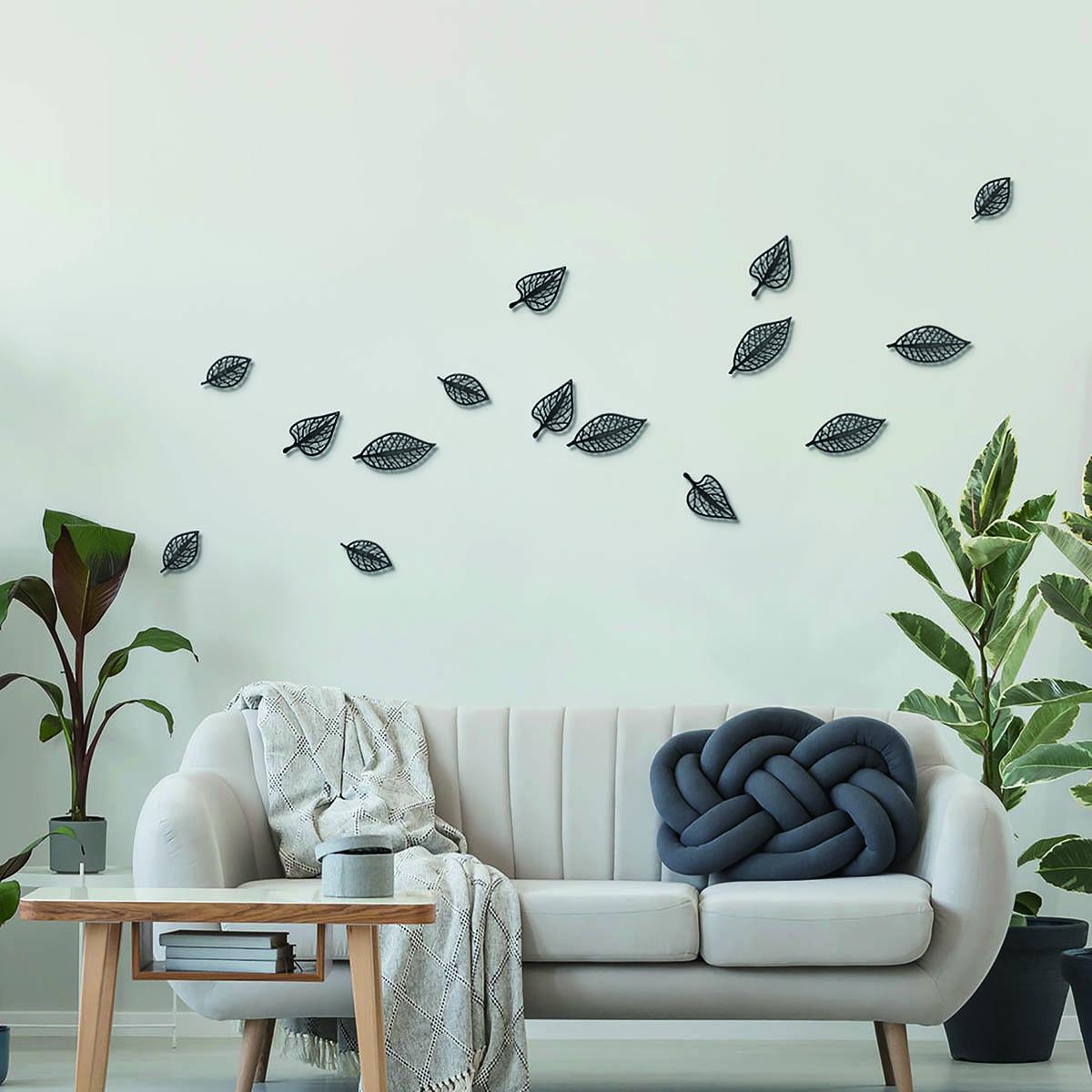 Gray living room interior