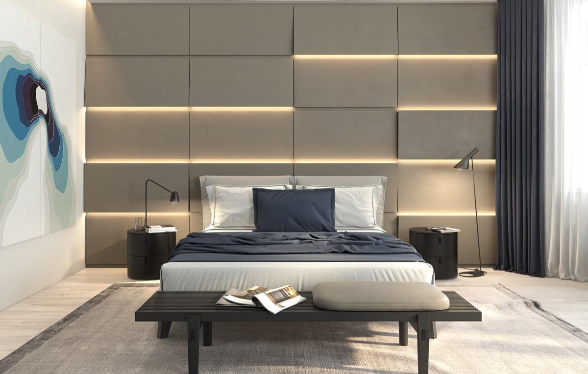Camera da letto stile contemporaneo: 6 consigli per arredare