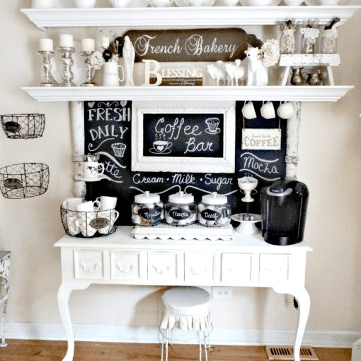 Idee per creare un angolo caffè in casa