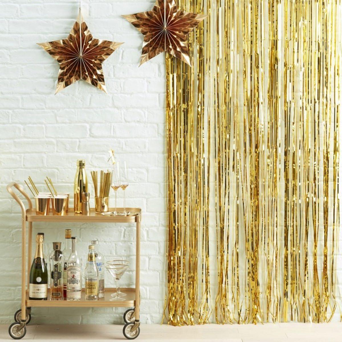 Abbellire casa per Capodanno in modo economico 2
