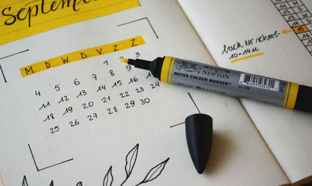 Creare un calendario fai da te 2
