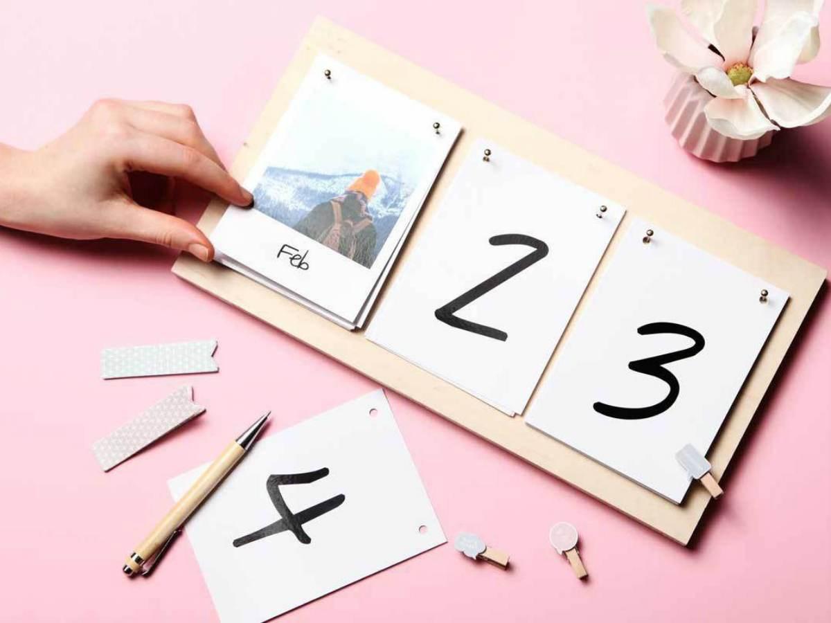 Creare un calendario fai da te 6