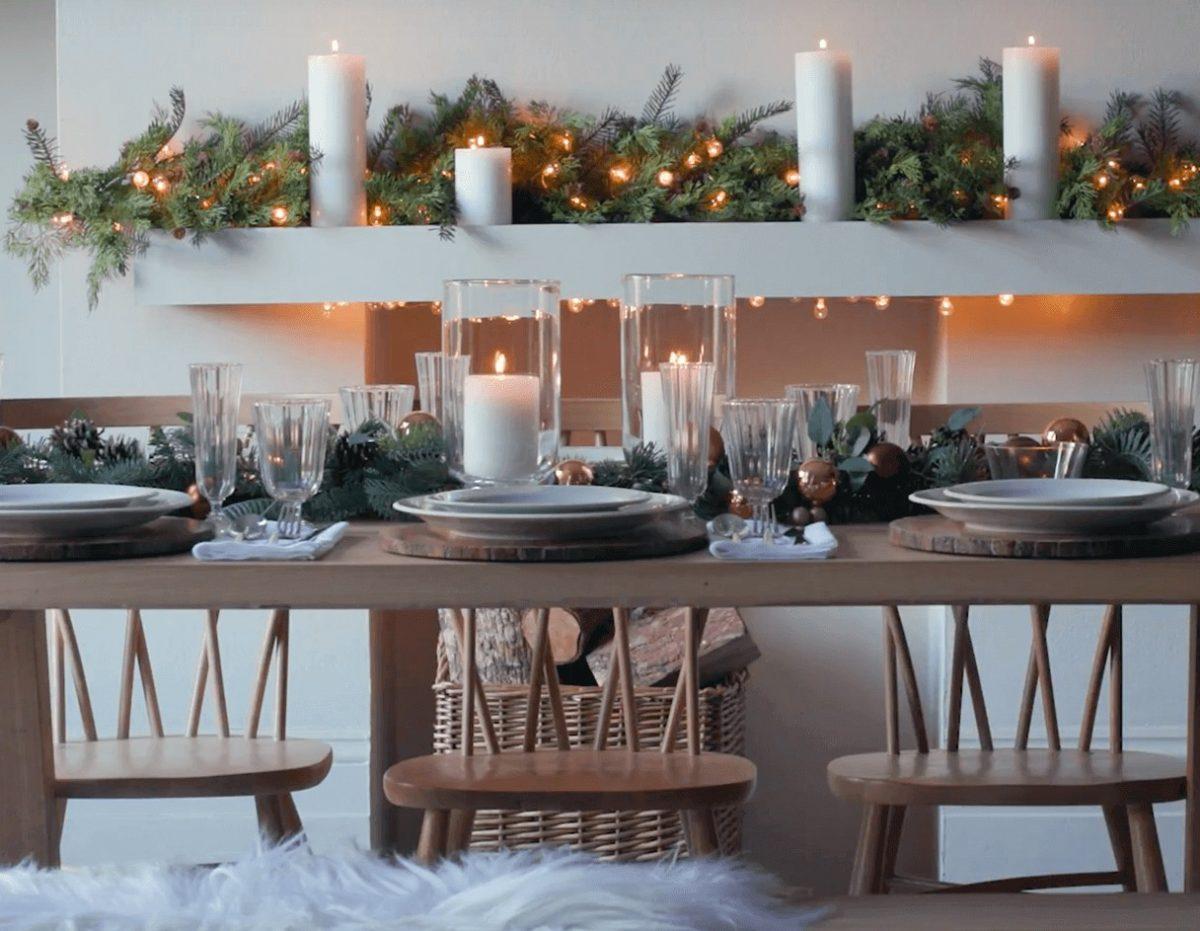 Decorazioni per la tavola natalizia 2