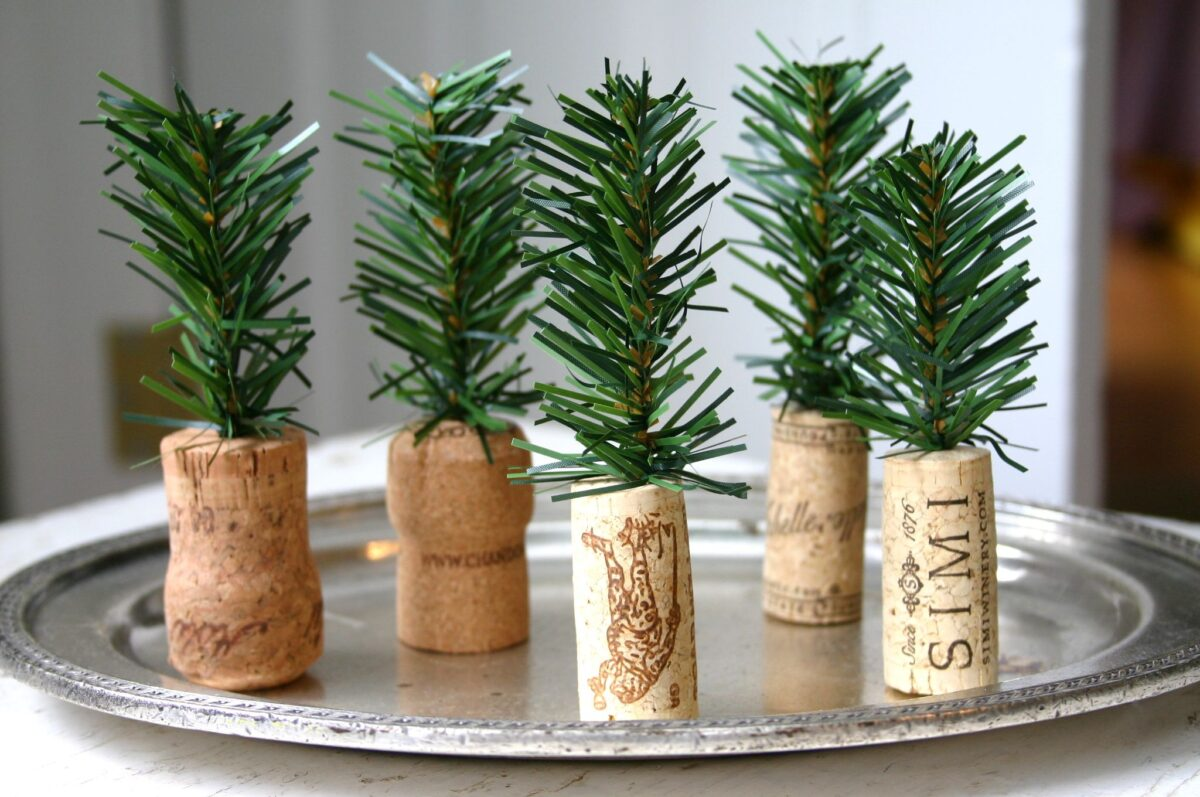 Decorazioni per la tavola natalizia 4