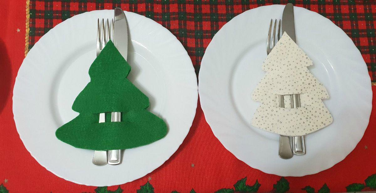 Decorazioni per la tavola natalizia 5