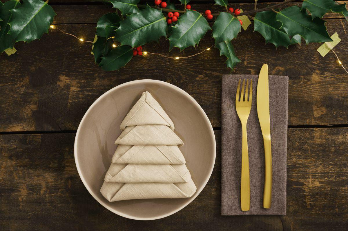 Decorazioni per la tavola natalizia 6