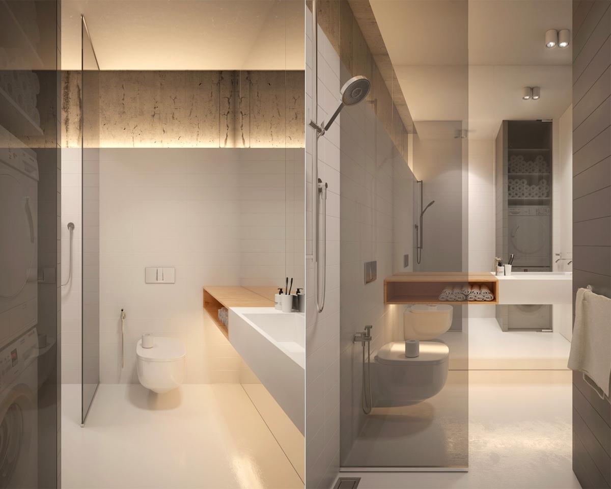 Arredare un bagno rettangolare lungo e stretto: 6 idee