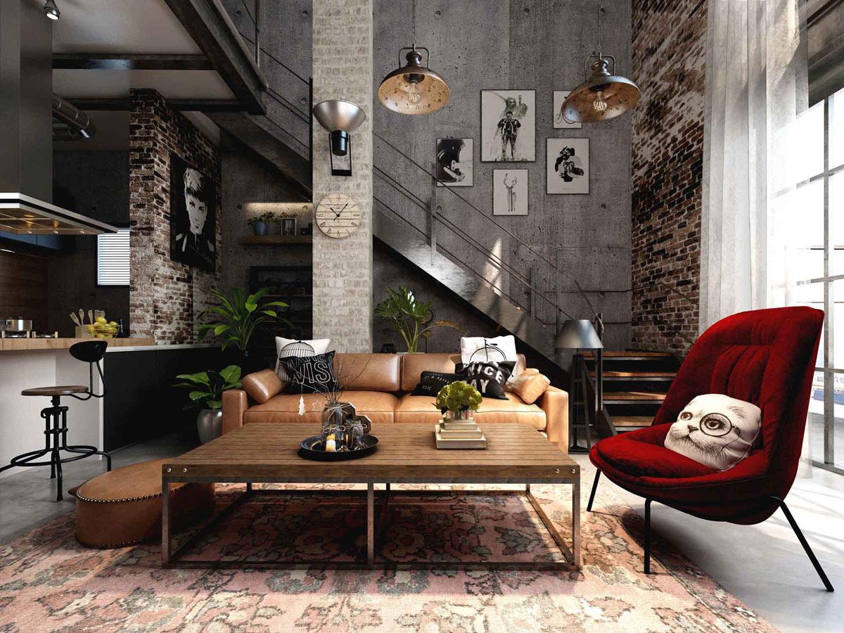5 colori ideali per lo stile industrial: le sfumature di tendenza