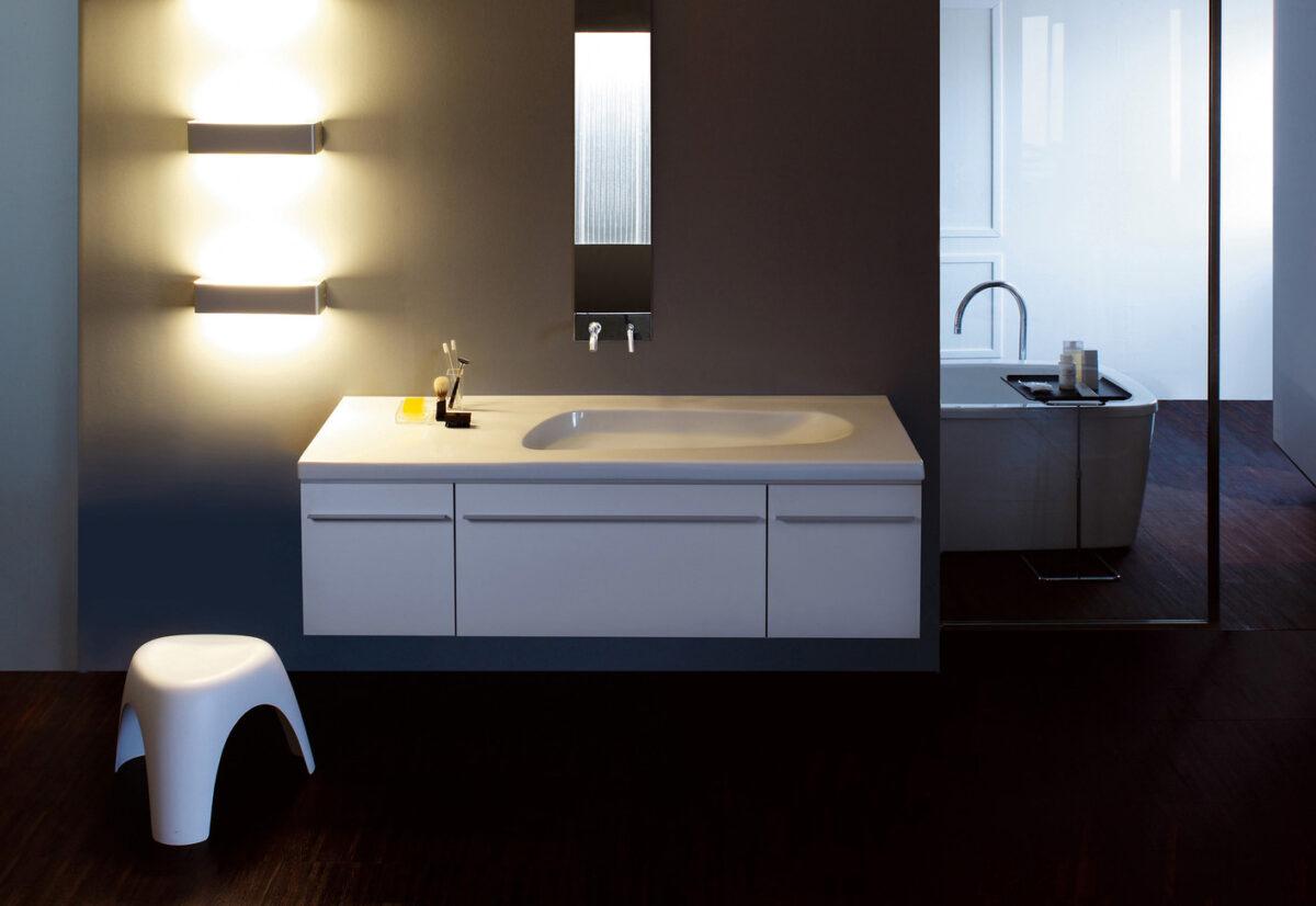 Lavabo integrato nel top: pro, contro e alternative di design