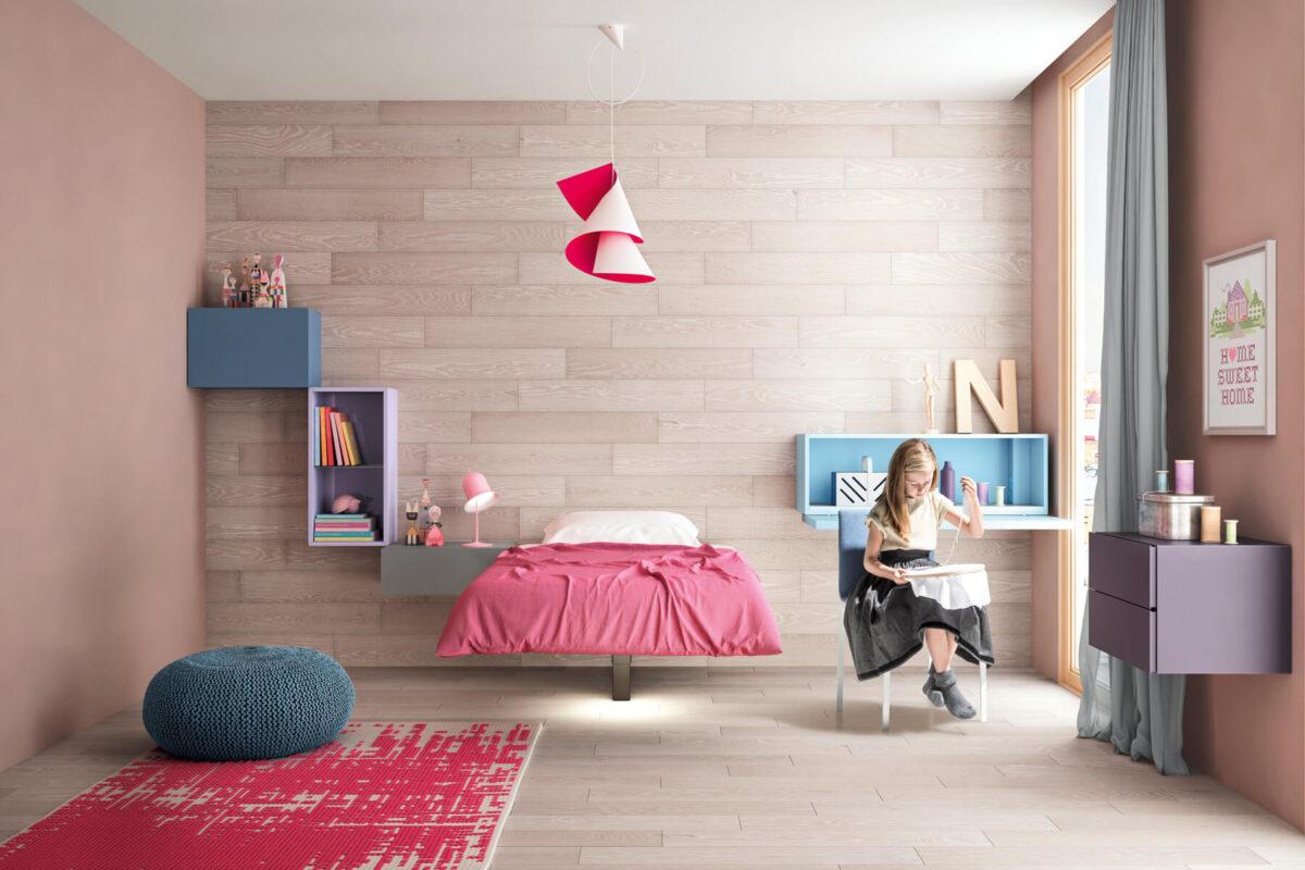 Stile moderno: come arredare camerette bambini